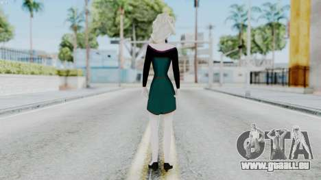 Elsa Regular Skirt Dress für GTA San Andreas dritten Screenshot