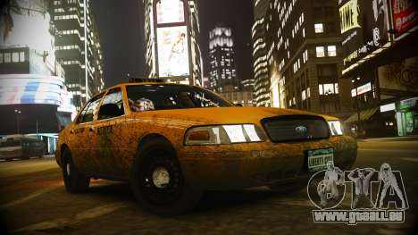 Ford Crown Victoria L.C.C Taxi pour GTA 4
