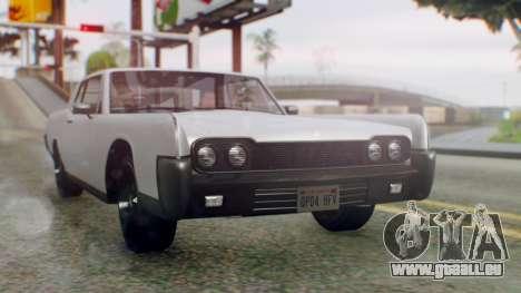 GTA 5 Vapid Chino Tunable IVF PJ pour GTA San Andreas