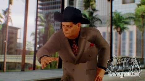 WWE Jim Ross pour GTA San Andreas