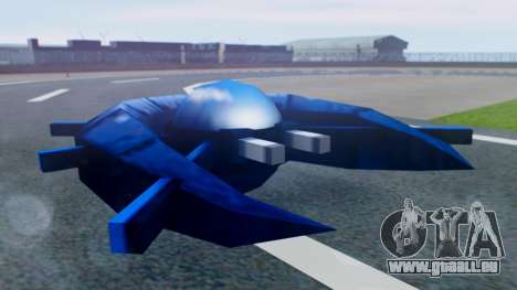 Alien Ship Dark Blue pour GTA San Andreas
