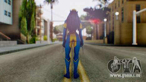 Marvel Heroes X-23 (All new Wolverine) v1 für GTA San Andreas dritten Screenshot