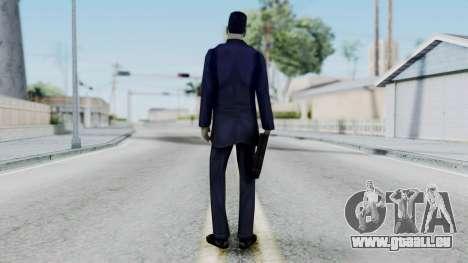 GMAN v1 from Half Life für GTA San Andreas dritten Screenshot