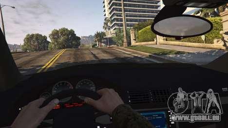 GTA 5 BMW M5 E39 1.1 arrière droit vue de côté