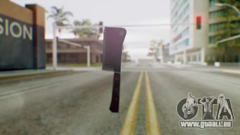 Vice City Meat Cleaver für GTA San Andreas zweiten Screenshot