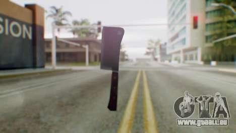 Vice City Meat Cleaver pour GTA San Andreas deuxième écran
