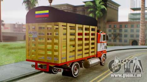 Ford 9000 Con Estacas Stylo Colombia für GTA San Andreas linke Ansicht