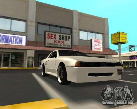 Elegy C35 pour GTA San Andreas laissé vue