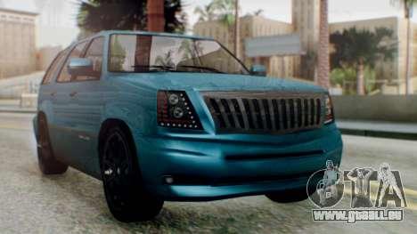 GTA 5 Albany Cavalcade II IVF für GTA San Andreas