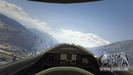 GTA 5 Chengdu J-20 cinquième capture d'écran