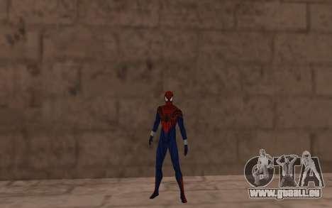 Sensational Spider-Man Ben Reilly en Robinosuke pour GTA San Andreas troisième écran