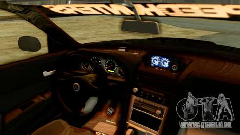 Nissan Skyline GT-R Nismo Tuned für GTA San Andreas rechten Ansicht