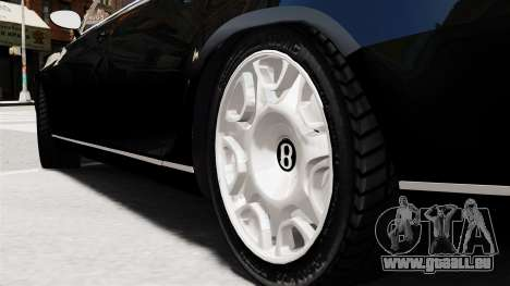 Bentley Continental 2010 Flying Spur Beta für GTA 4 hinten links Ansicht