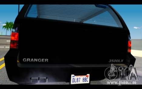 GTA 5 Declasse Granger FIB IVF pour GTA San Andreas vue de droite