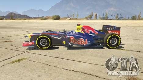 GTA 5 Red Bull F1 v2 redux linke Seitenansicht