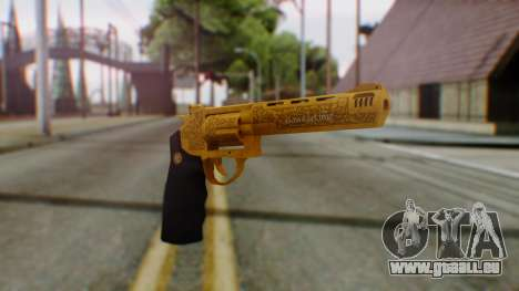 GTA 5 VIP Revolver für GTA San Andreas