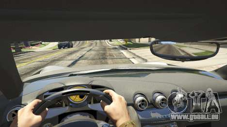 GTA 5 Ferrari F12 Berlinetta 2013 vue arrière