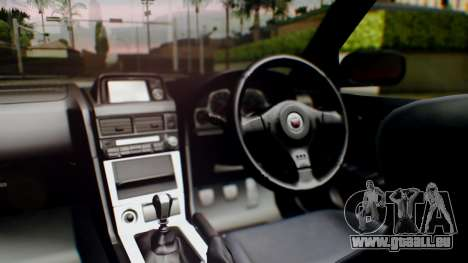Nissan Skyline R34 Stance Nico Yazawa Itasha pour GTA San Andreas vue arrière