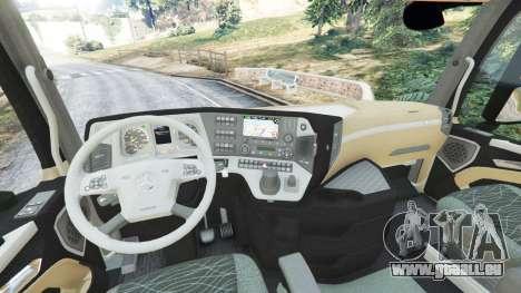 Mercedes-Benz Actros Euro 6 [Brasil] für GTA 5