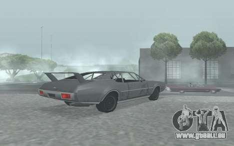 Clover Stock Car pour GTA San Andreas laissé vue