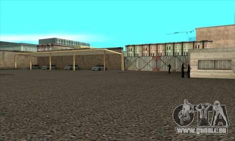 Renouvellement des auto-écoles dans le quartier pour GTA San Andreas quatrième écran