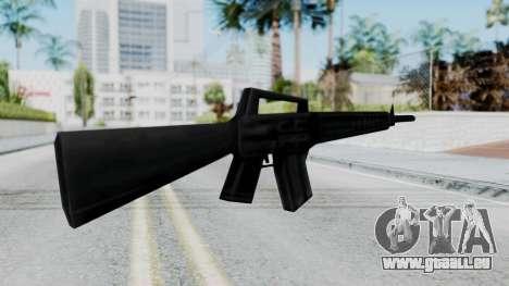GTA 3 M16 für GTA San Andreas zweiten Screenshot