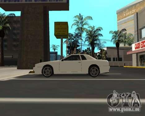 Elegy C35 pour GTA San Andreas vue de droite