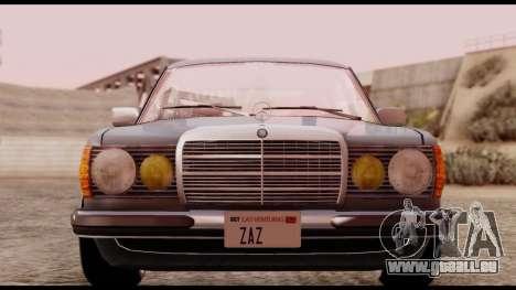 Mercedes-Benz 450SEL für GTA San Andreas rechten Ansicht