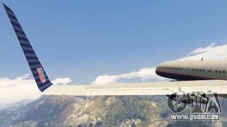 GTA 5 Boeing 757-200 huitième capture d'écran