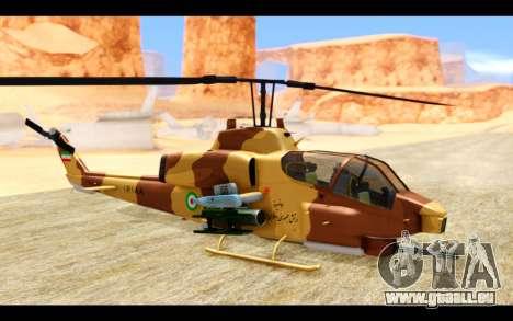 AH-1W IRIAF SuperCobra pour GTA San Andreas