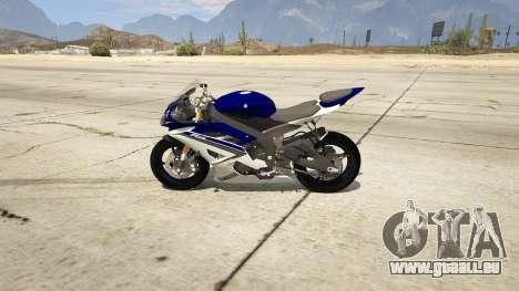 Yamaha YZF-R6 2014 pour GTA 5