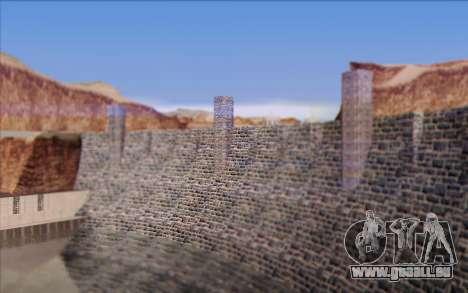 Nouveau barrage pour GTA San Andreas sixième écran