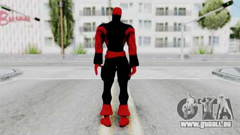 Spider-Man Shattered Dimensions - Deadpool für GTA San Andreas dritten Screenshot