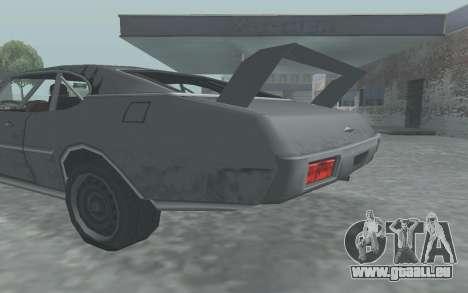 Clover Stock Car pour GTA San Andreas vue de droite
