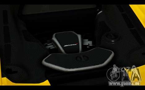 McLaren 650S Coupe pour GTA San Andreas roue