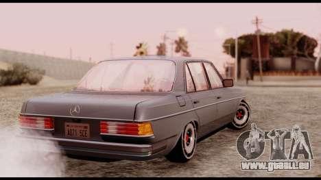 Mercedes-Benz 450SEL für GTA San Andreas linke Ansicht