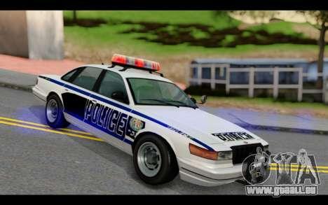 GTA 5 Curie IV Black pour GTA San Andreas
