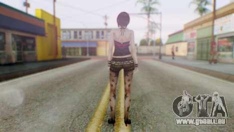 Fatal Frame 4 Misaki Punk Outfit für GTA San Andreas dritten Screenshot