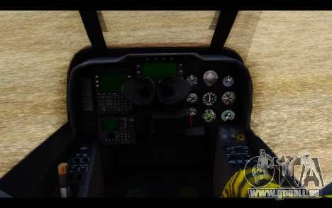 AH-1W IRIAF SuperCobra pour GTA San Andreas vue de droite