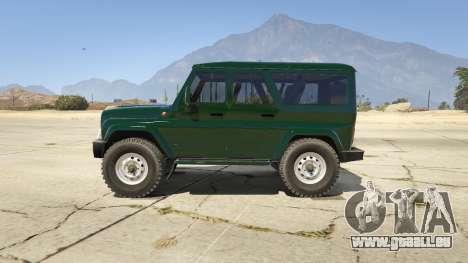 УАЗ 3159 Porpoising für GTA 5