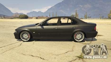 GTA 5 BMW M5 E39 1.1 vue latérale gauche