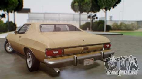 Ford Gran Torino 1974 pour GTA San Andreas laissé vue