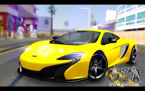 McLaren 650S Coupe pour GTA San Andreas