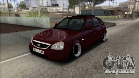 Lada Priora Ukrainian Stance für GTA San Andreas