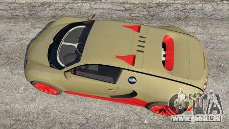 GTA 5 Bugatti Veyron Super Sport Rückansicht
