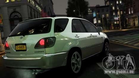 Toyota Harrier für GTA 4 hinten links Ansicht