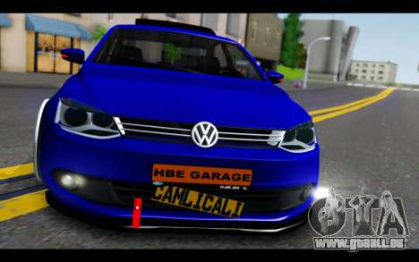 Volkswagen Jetta für GTA San Andreas Rückansicht