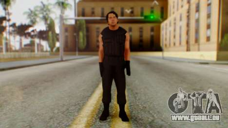 Dean Ambrose pour GTA San Andreas deuxième écran