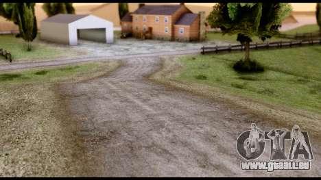 New HD Roads für GTA San Andreas dritten Screenshot