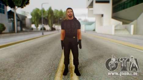 Seth Rollins pour GTA San Andreas deuxième écran